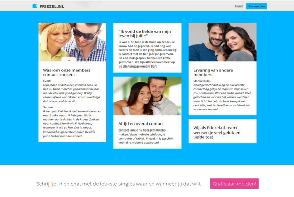 Dating website maken
